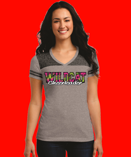 Wildcat Cheer Leading Custom Printed Shirt