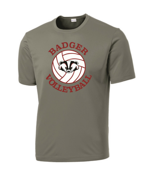 badger volleyball shirt